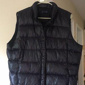 NWOT XL lands end puffer vest